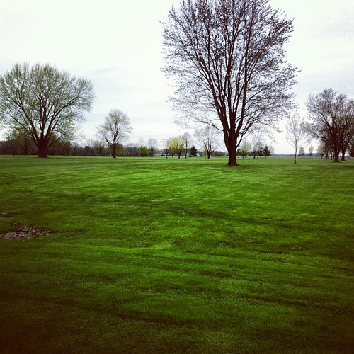 First round of golf of the year
