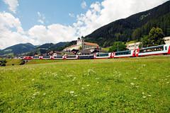 Cestování Švýcarskem sjedinou jízdenkou