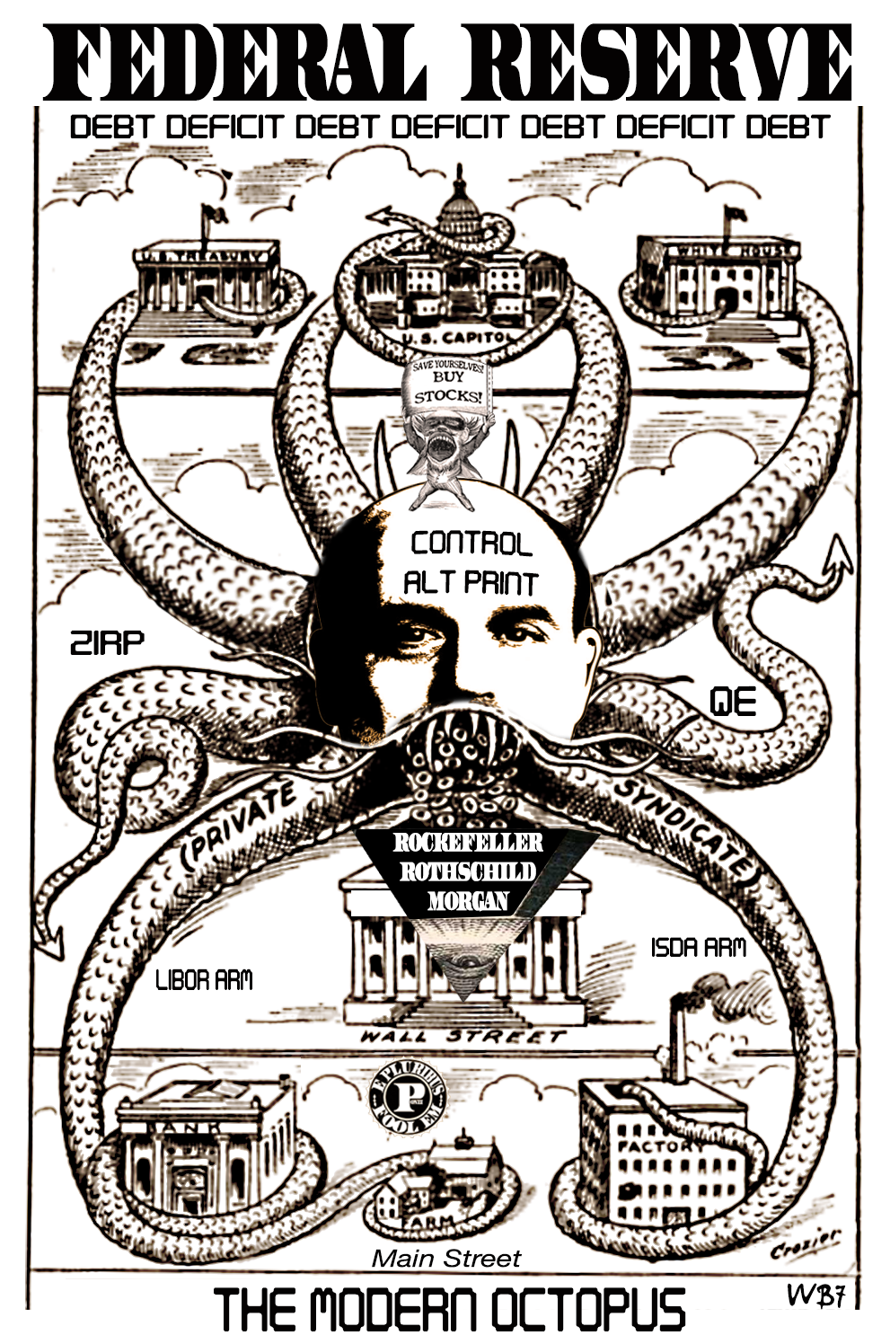 THE MODERN FEDERAL RESERVE OCTOPUS