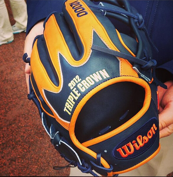 Miguel Cabrera Triple Crown Glove | Flickr - Photo Sharing!