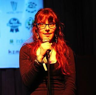 Barbara Holm onstage