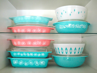 Pyrex section...
