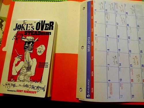 May 2013 diary