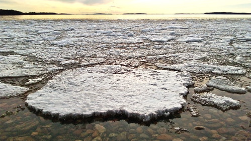 sunset lake ice saimaa lumia920