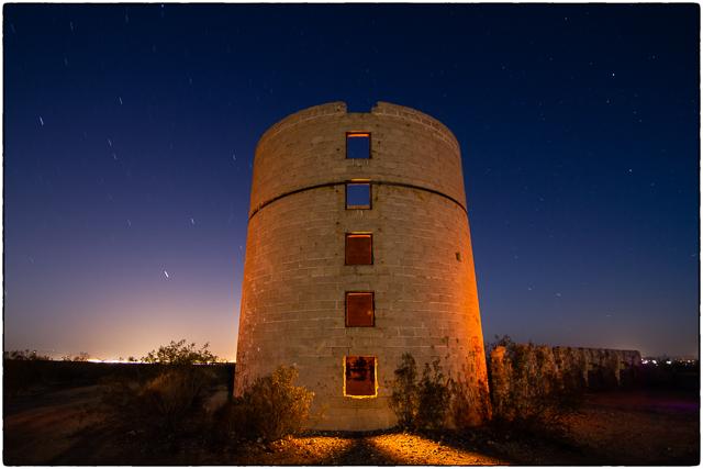 Llano Del Rio at Night 42613 © Michael Klayman-001