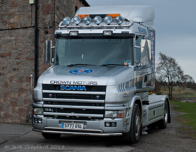 Dalmore 2013 Crown Motors Scania 114L T Cab 4x2