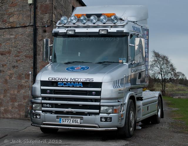 Dalmore 2013 Crown Motors Scania 114L T Cab 4x2