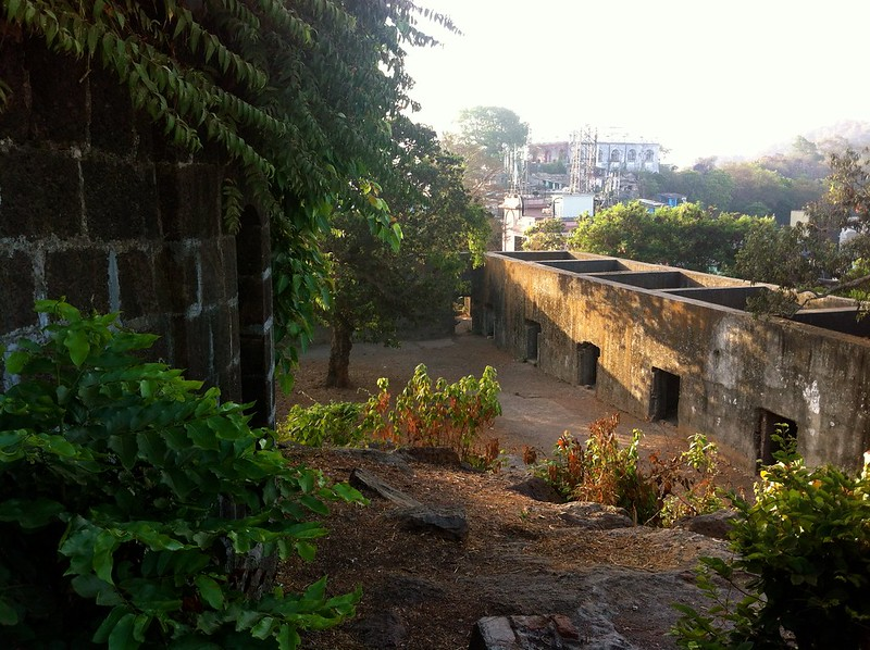 Ghodbunder Fort - Courtyard