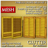 Clutter for Builders - Paneled Doors Mesh Kit V