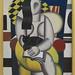 Fernand Léger: Frau mit Katze (1921) by Pfifferdaj