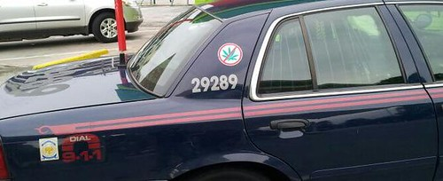 cop car no weed