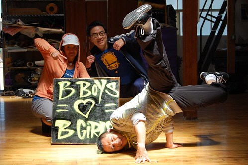 b-boy rikomatic, chow and chachi