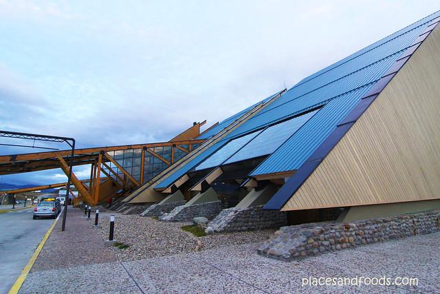 Ushuaia – Malvinas Argentinas International Airport exterior view