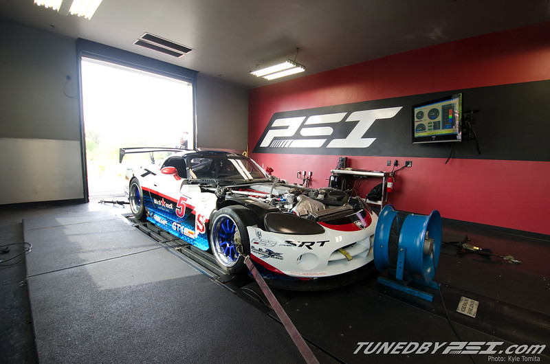 Lux Performance Viper on the dyno at PSI