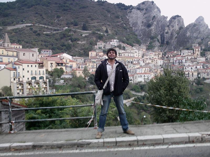 me in Castelmezzano