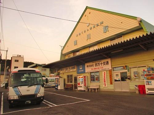 japan kochi shimanto kubokawa 高知県 四万十町 土佐くろしお鉄道