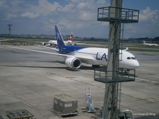 """Boeing 787-8 Dreamliner de Latam """"CC-BBI"""""""