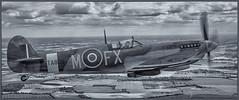 Spitfire TA805 Over Essex.