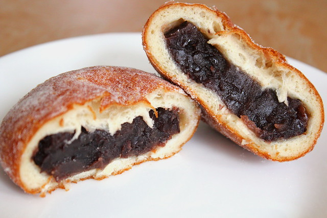 Red Bean Donut innards