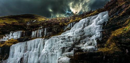ice landscape waterfall sony sigma dslr