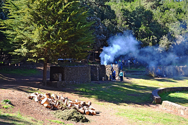 Barbecues at La Caldera, La Orotava, Tenerife