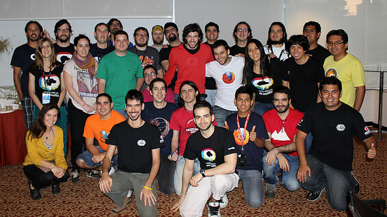 Meetup of the Hispanic Mozilla community in Perú.
