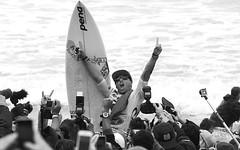 Adriano De Souza celebrates