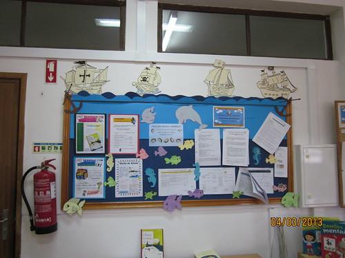 decoracao sala de leitura na escola:Semana do Mar na nossa Biblioteca Escolar – BE Castanheira de Pera