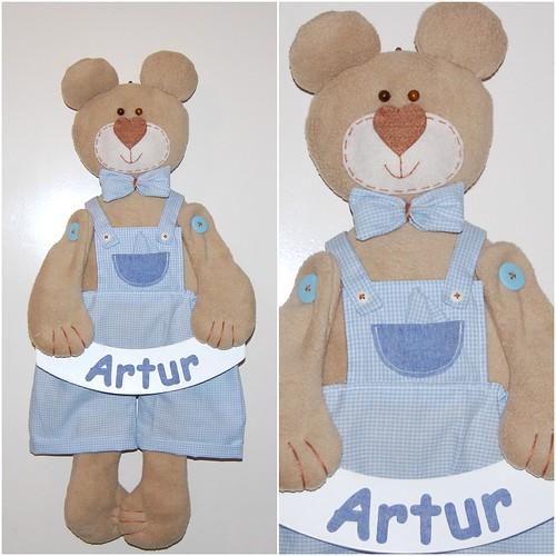 Urso Artur by LEME´S ARTE / By Helenita Leme