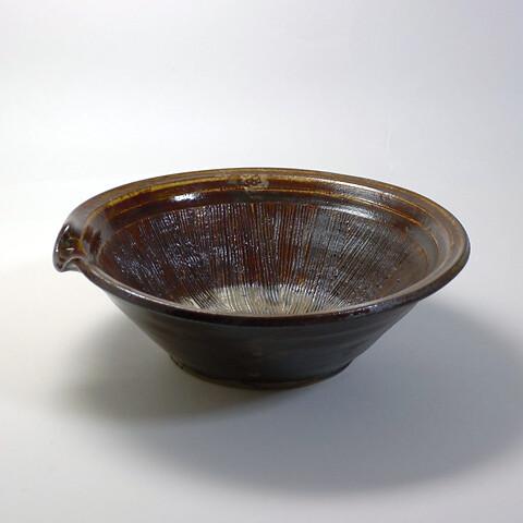 小鹿田焼 柳瀬朝夫窯「8寸すり鉢」