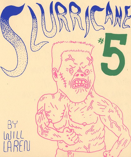 Slurricane #5 debuting at MOCCAfest in NY april 6-7! ($5) by willlaren