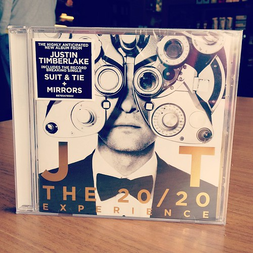 Day93 Bought the new Justin Timberlake album. 4.3.13 #jessie365