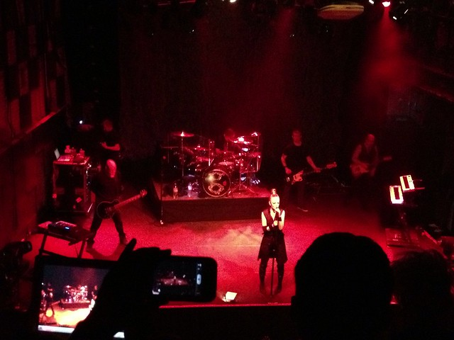 SURPRISE! Last minute tickets to see Garbage from @juliaschrenkler! #project365