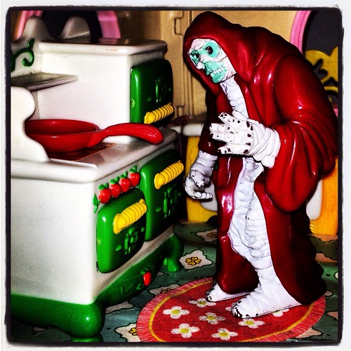 Cooking with Mumm-ra