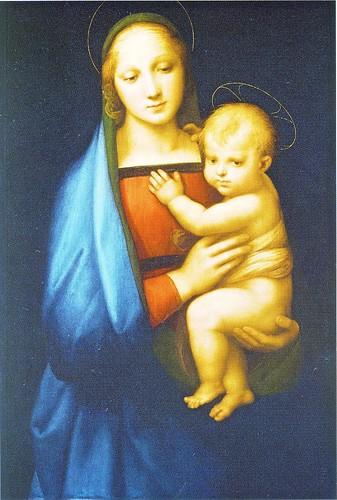 ラファエロ・サンツィオ「大公の聖母」ラファエロ展 by Poran111