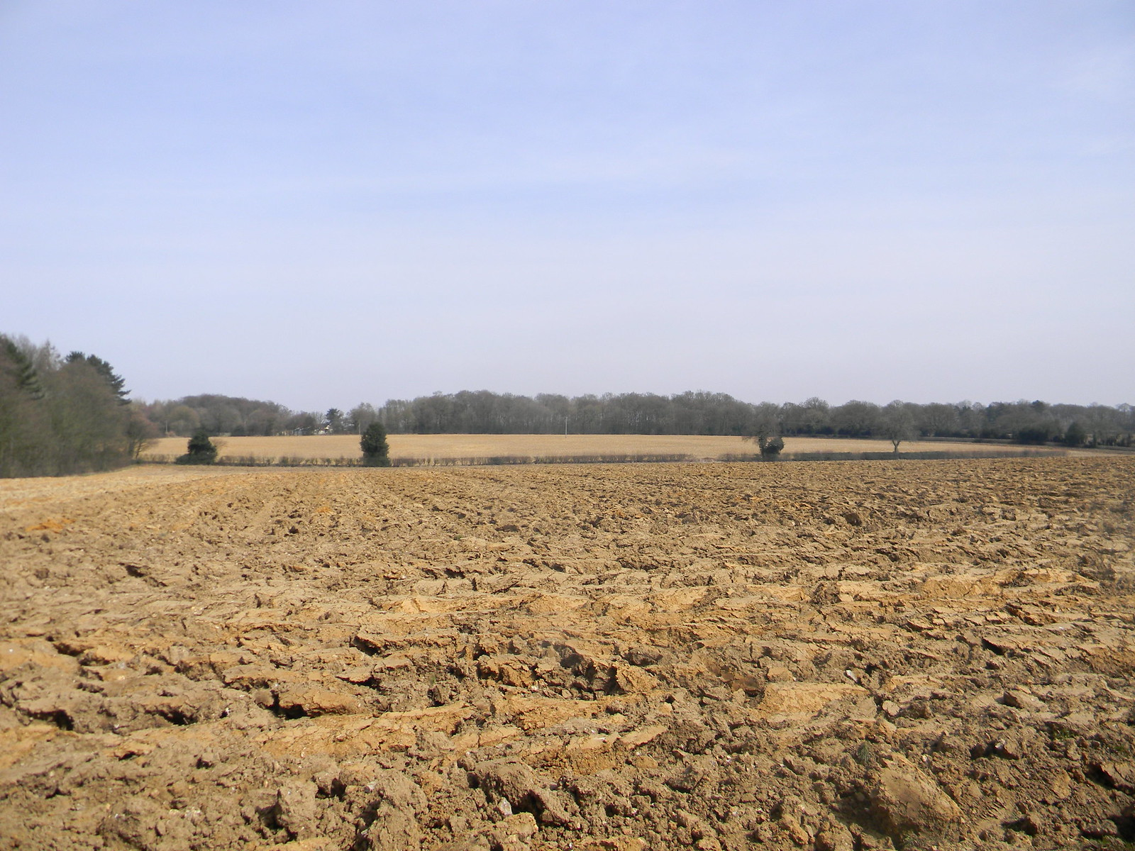 Ploughed field Wendover Circular via Lee