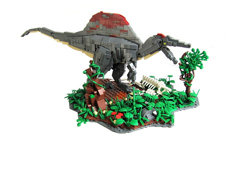 Prehistoric prowler the brothers brick the brothers brick - Lego dinosaurs spinosaurus ...
