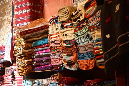 Carpet shop, Fez, Morocco
