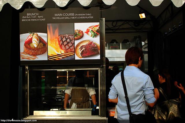 Savour 2013 - Stellar BBQ Tent