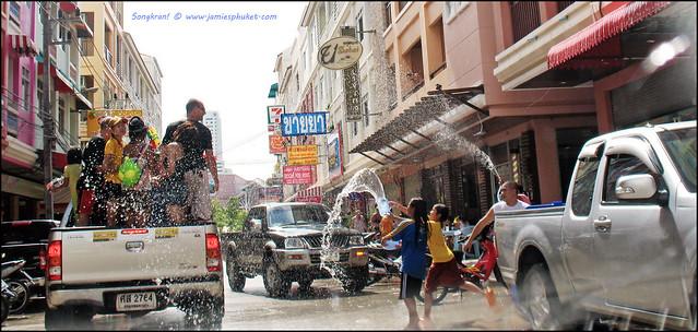 Songkran 2009 in Patong, Phuket