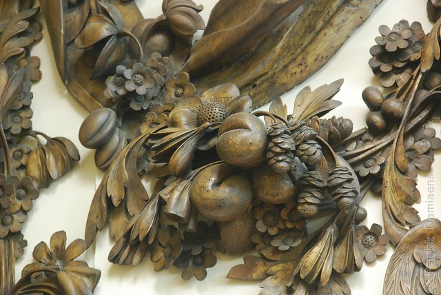 Grinling Gibbons Style of Woodcarving