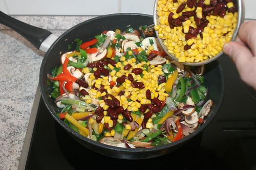 36 - Mais & Bohnen beifügen / Add corn & beans
