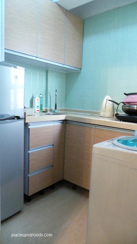 budget apartment hong kong kitchen