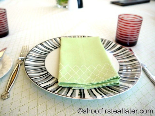 Finestra's table setting