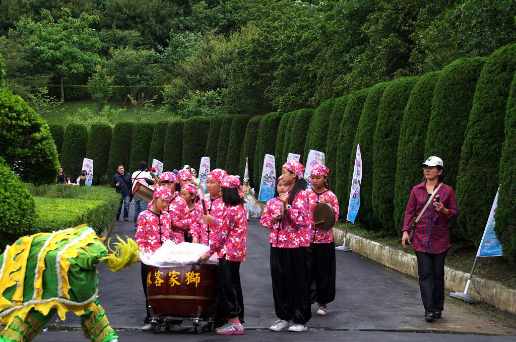 2013苗栗客家桐花祭開幕式