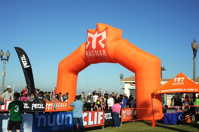 8:30am start, Ragnar Relay SoCal 2013
