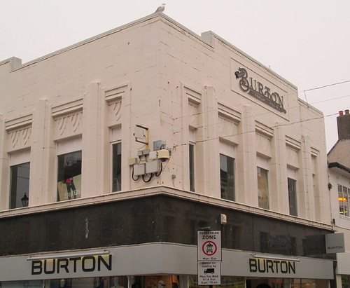 Burton's, Whitehaven, side view