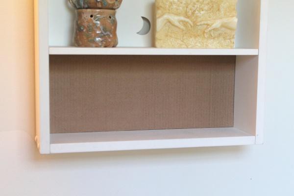Fabric Lined Shelf, 2