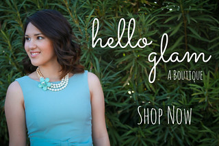 Hello Glam Blog Button
