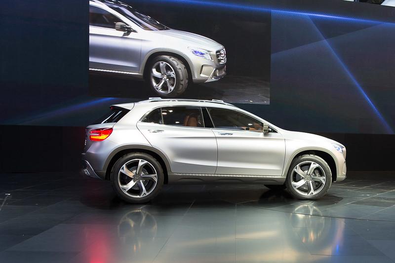 Auto Shanghai 2013: Mercedes-Benz Concept GLA
